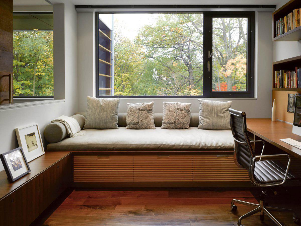Домашний кабинет – рабочий островок уюта